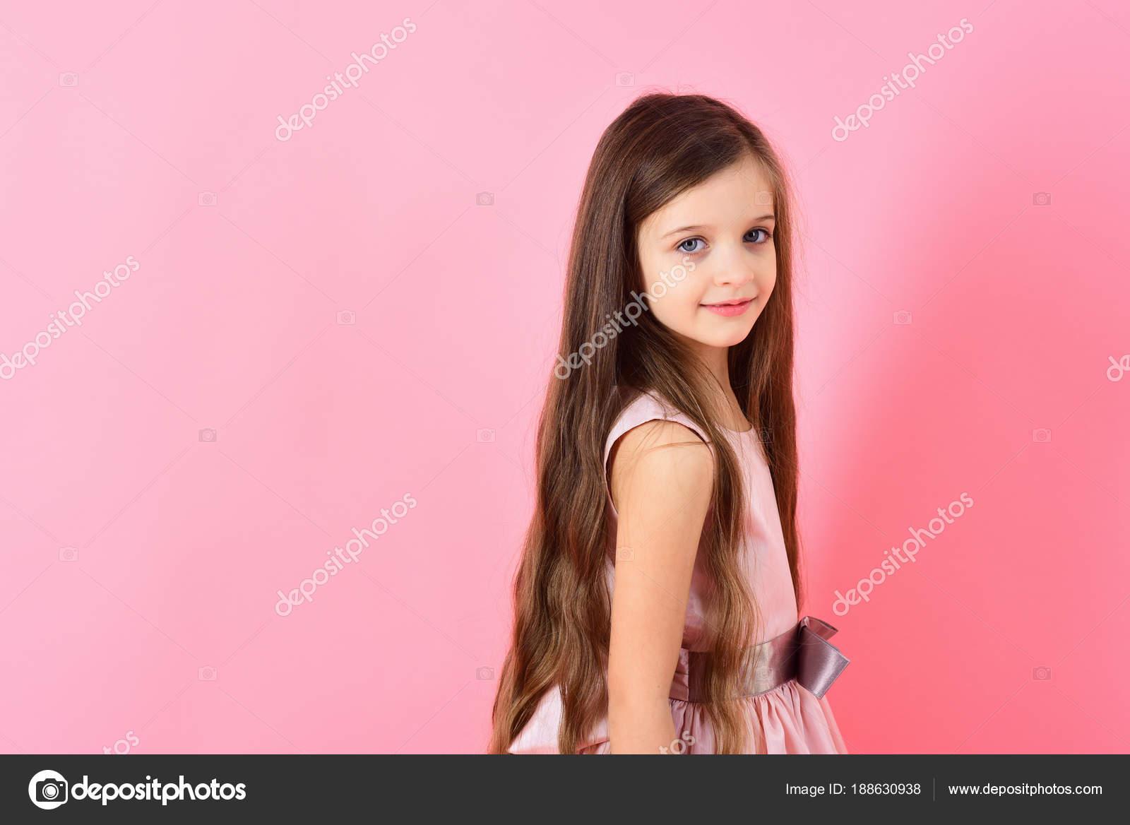 Childhood Look Happiness Hairstyle Stock Photo Tverdohlib