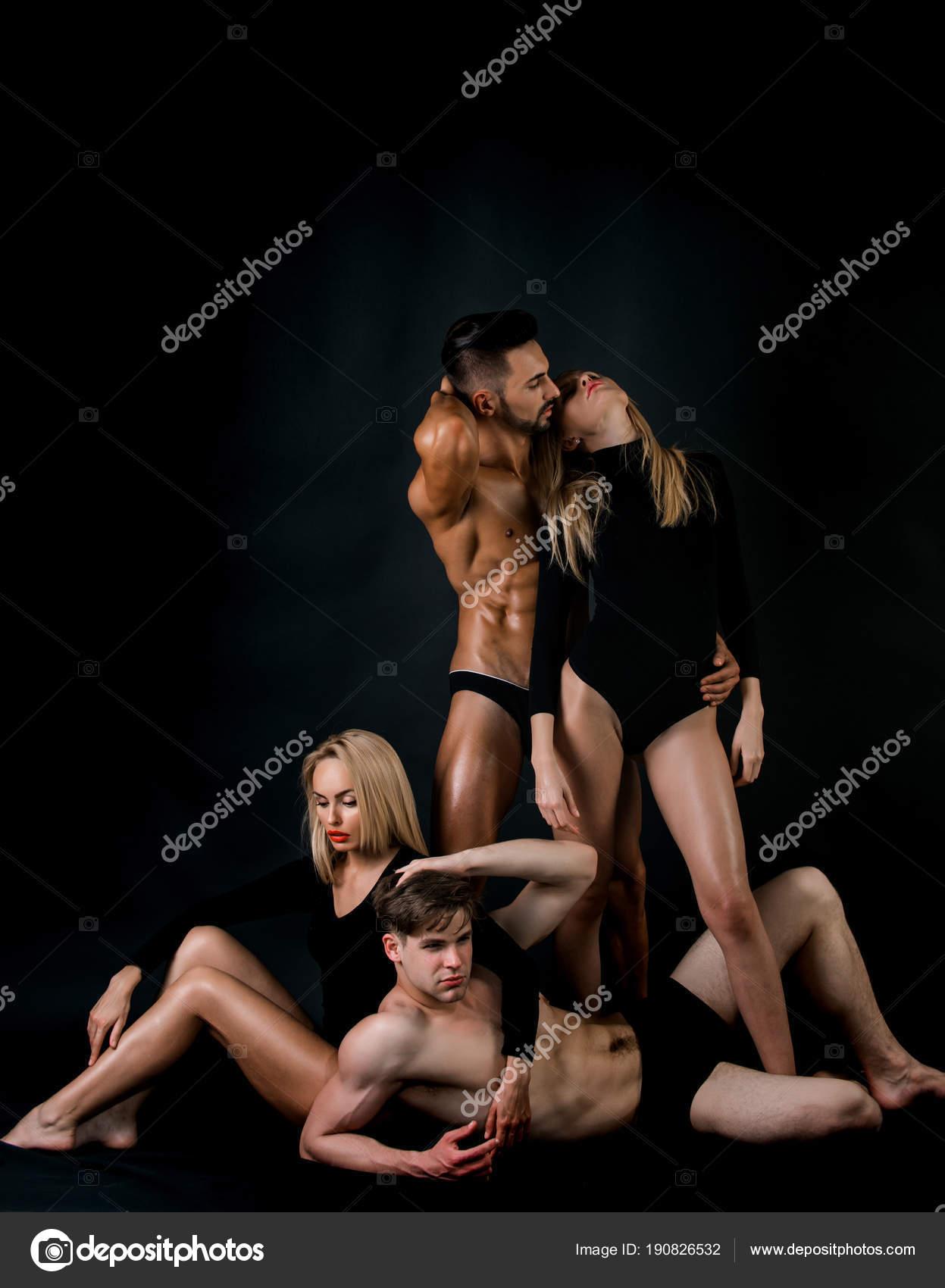 Athlete erotic men