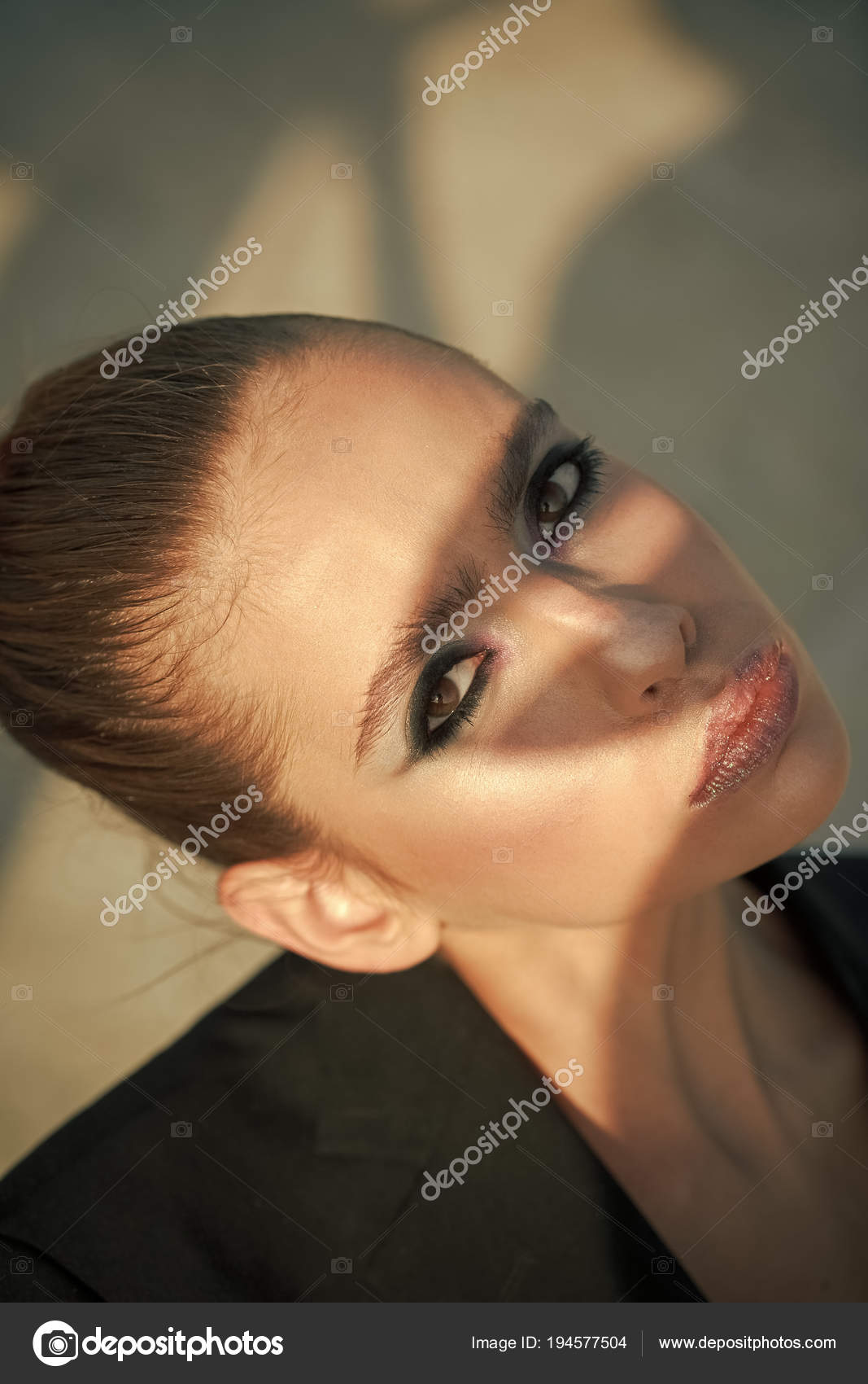Cosmetics For Visage And Skincare Hairdresser Woman With Hairstyle