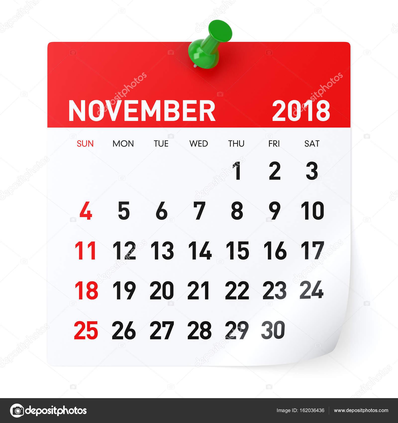 november 2018 calendar stock photo  u00a9 klenger 162036436 calendar icon vector png google calendar icon vector
