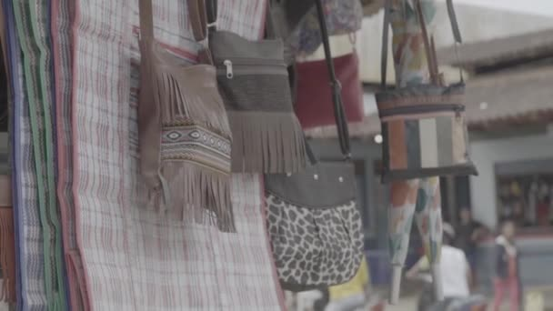 View Of Handicrafts In A Market Brazil Stock Video C Perin