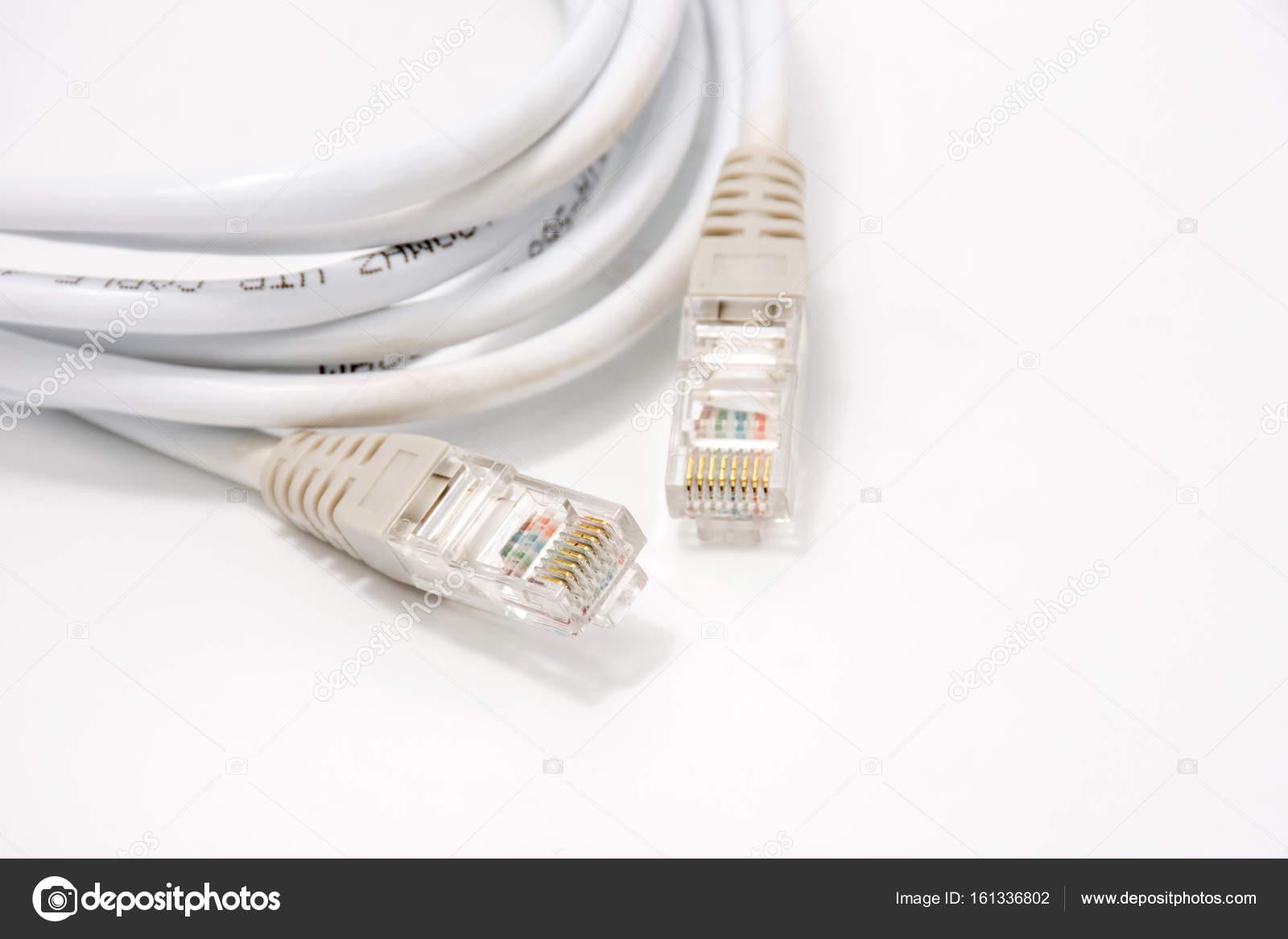 Wireless LAN cable on white — Stock Photo © wasansos1 #161336802