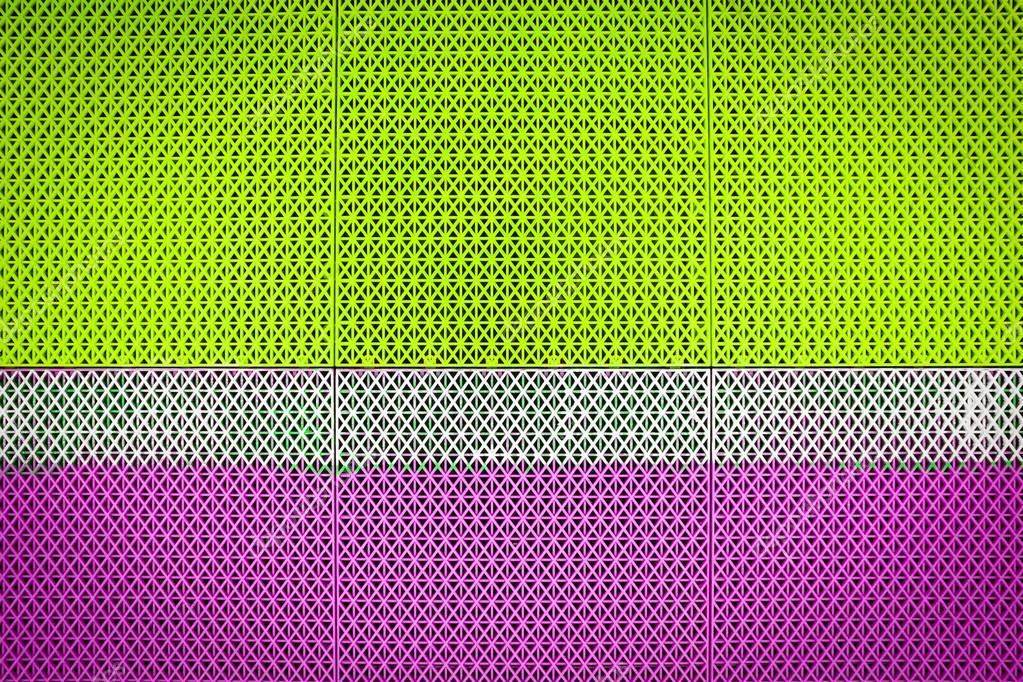 Corte di futsal plastica pavimentazione piastrelle texture