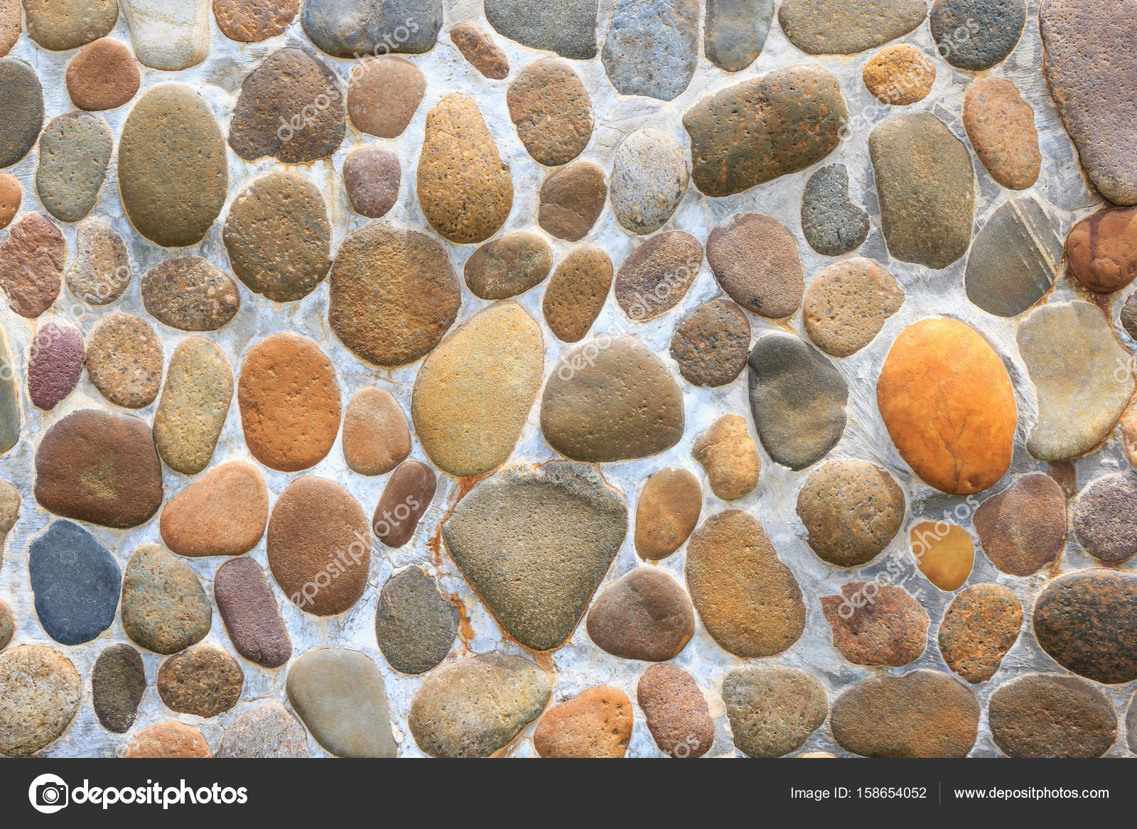 Pebble stone floor tile texture stock photo jpkirakun 158654052 pebble stone floor tile texture stock photo dailygadgetfo Image collections