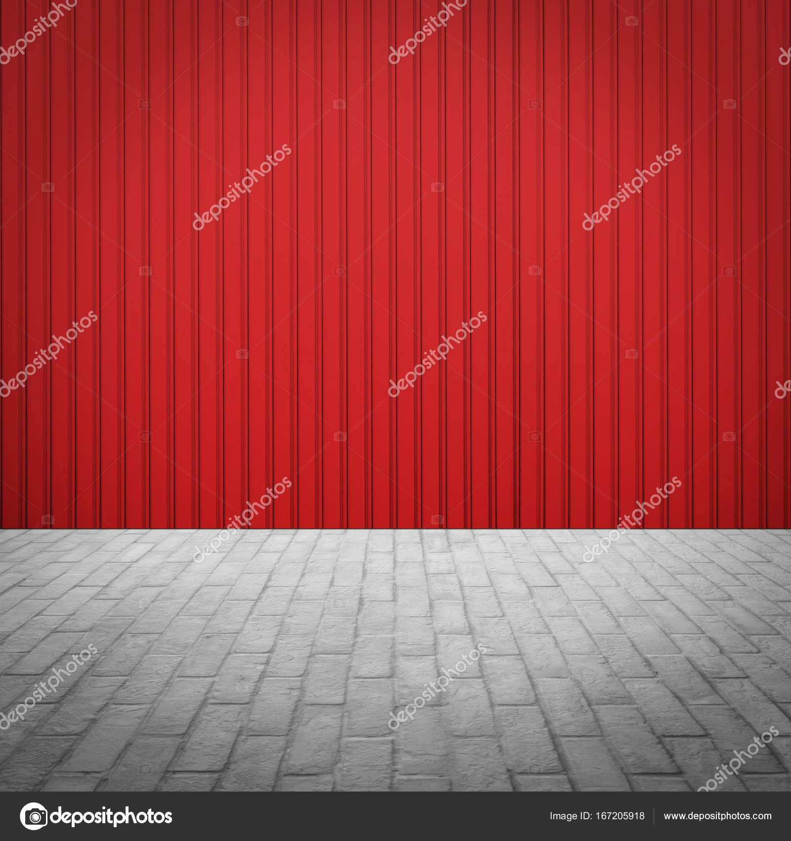 Outdoor stone block tile floor with red wall stock photo outdoor stone block tile floor with red wall stock photo dailygadgetfo Gallery