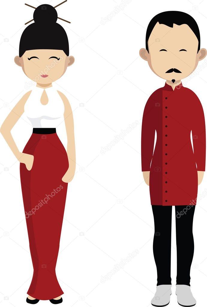 7d81b0d66 Fotos: japoneses | Familia japonesa. Dibujos animados pareja de ...