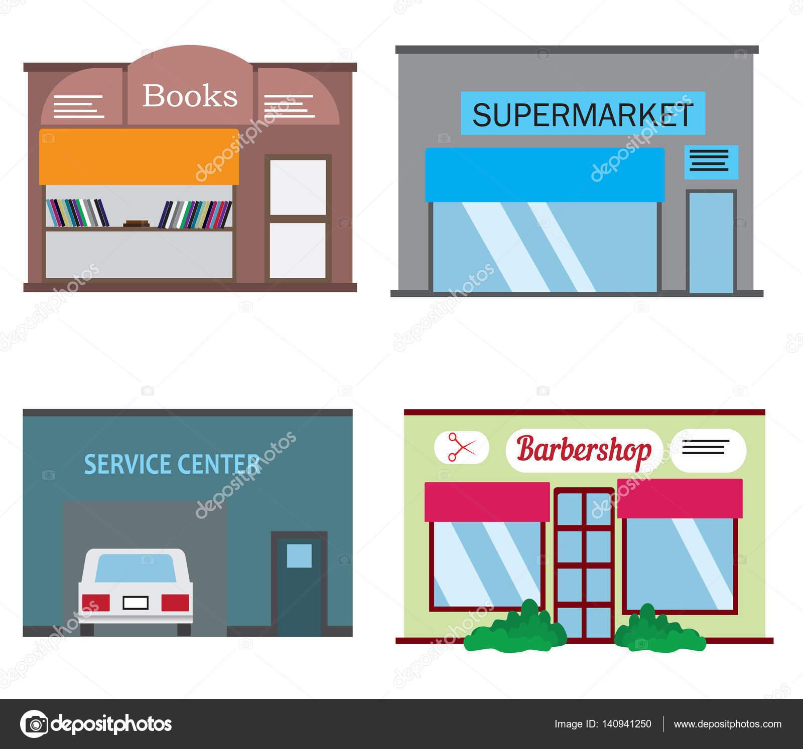 Süpermarketler, dükkanlar için profesyonel ekipman