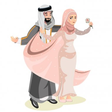 Muslim Couple Premium Vector Download For Commercial Use Format Eps Cdr Ai Svg Vector Illustration Graphic Art Design