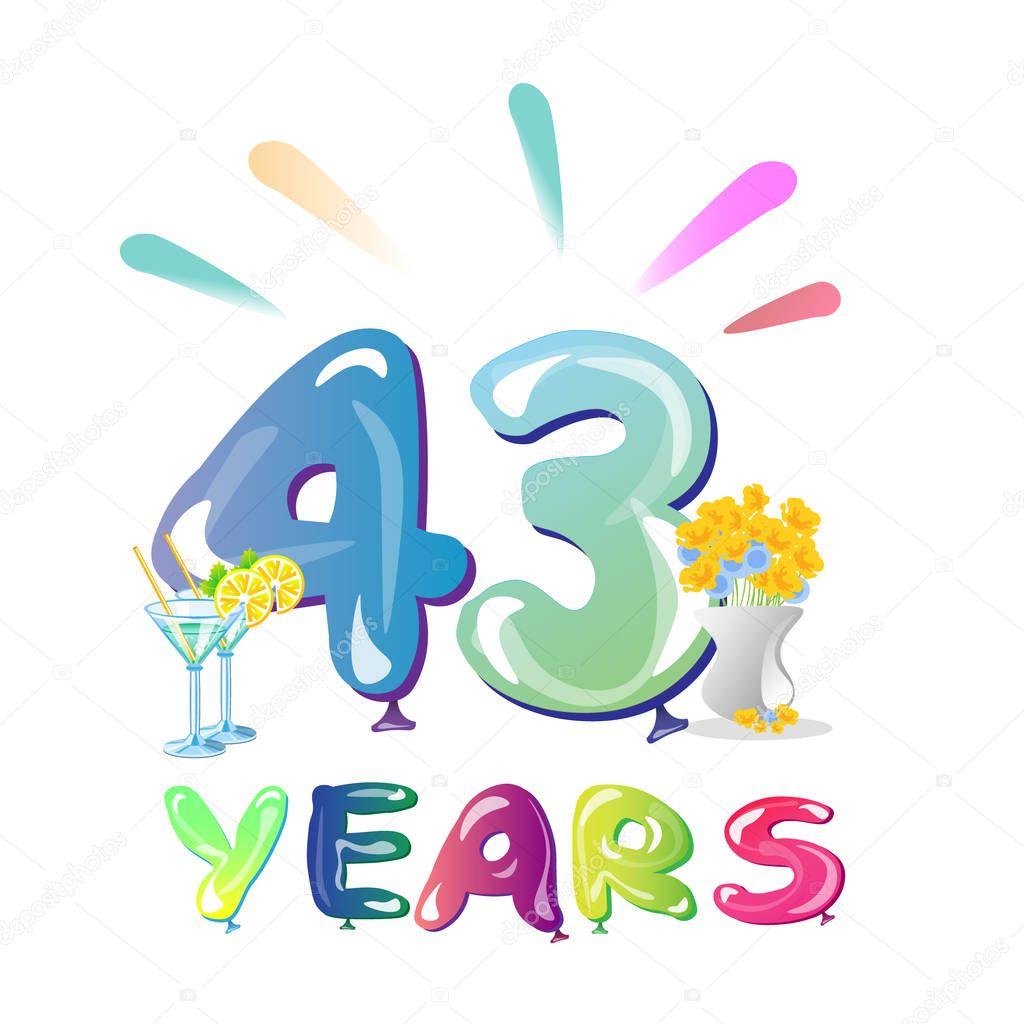 43 Jaar