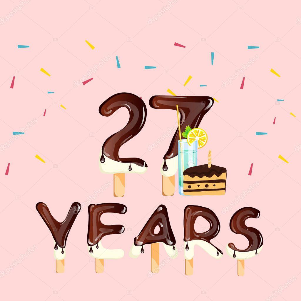 Открытки с днем рождения 27 лет парню, днем