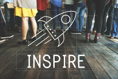 people with Inspire Concept