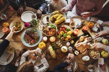 Thanksgiving Celebration Concept