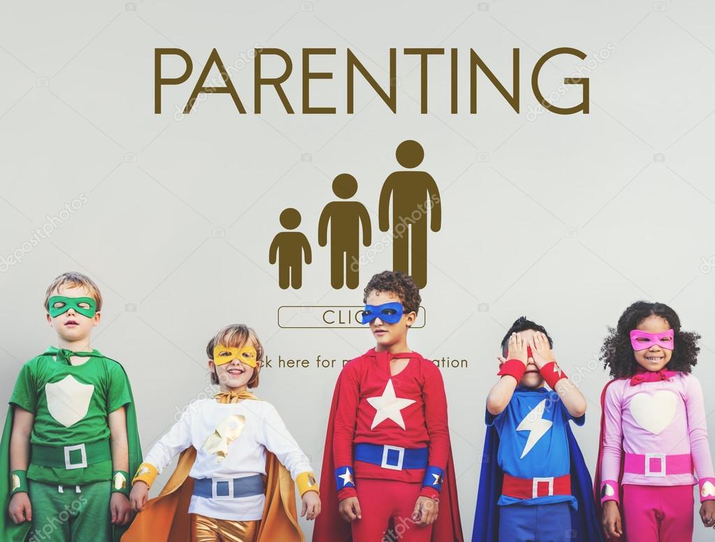 Superhero Kids have fun together