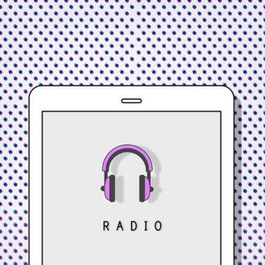 Design Template with Radio