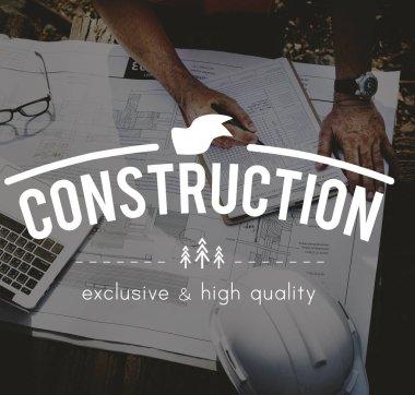 architect Worker writing plan