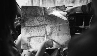 Friends Reading Map