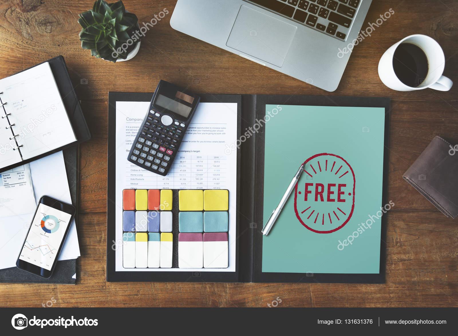 Tavolo Di Ufficio : Tavolo di lavoro di ufficio u foto stock rawpixel