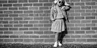 Fashionable cute little Girl