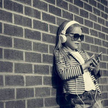 Fashionable cute little Girl