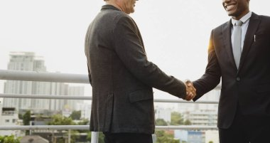 successful Business people handshake