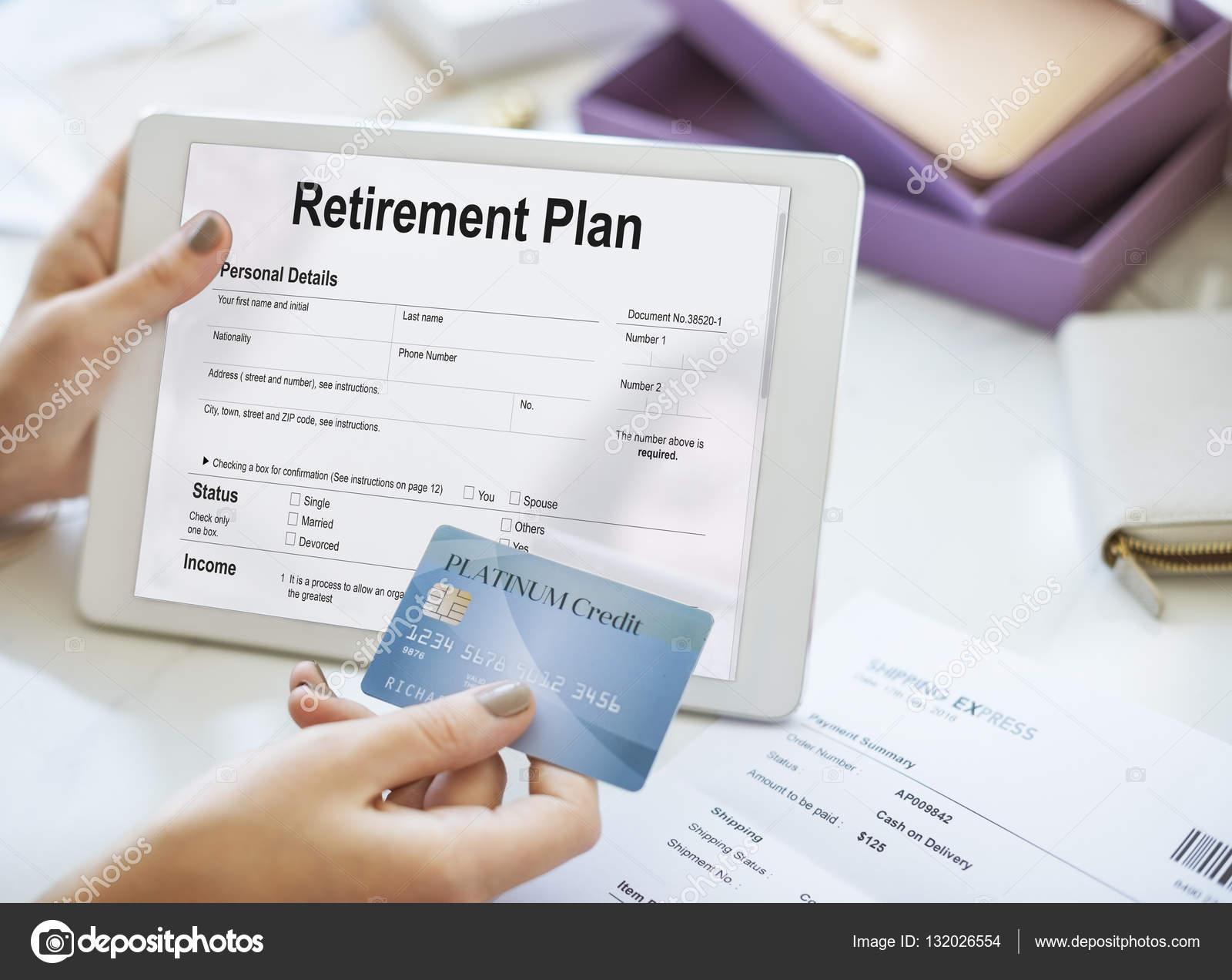 Plan Darlehen Haftung Steuer Formular Vorsorgekonzept Stockfoto