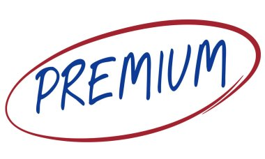 Graphic Text and Premium Concept
