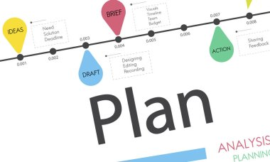 Template with Plan concept