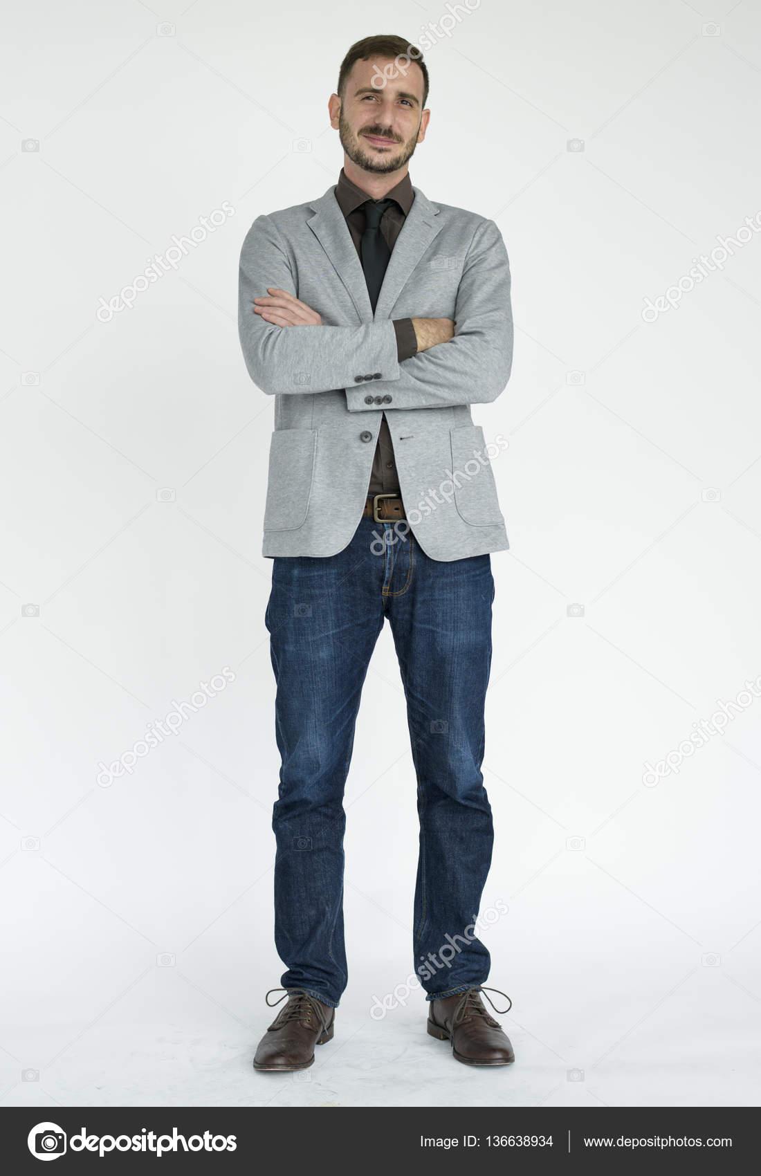3e5a8e8a5 Hombre joven en ropa formal — Fotos de Stock © Rawpixel  136638934