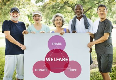 Retirement Senior people and Welfare Concept