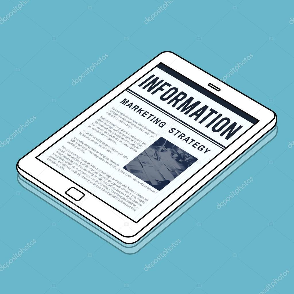 News Business Communication Marketing Concept