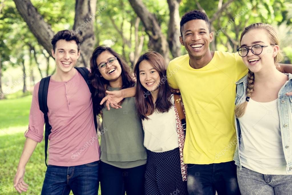 diversity Group of Young People