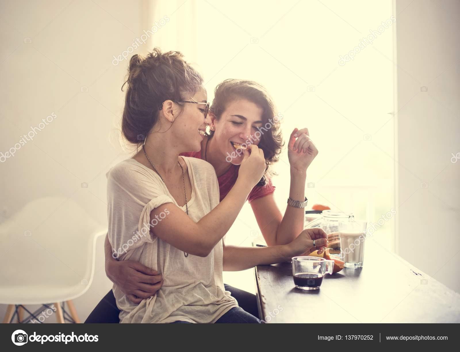 Lesbisches Paar dating