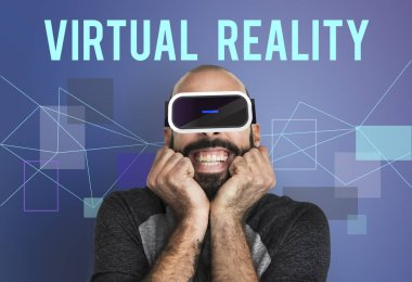 bearded man in Simulation Gadget