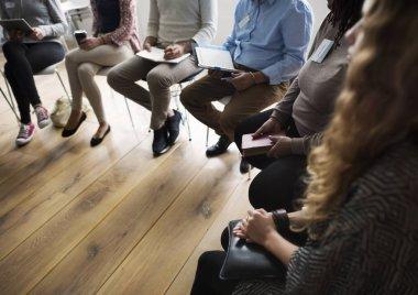 People Meeting on Seminar