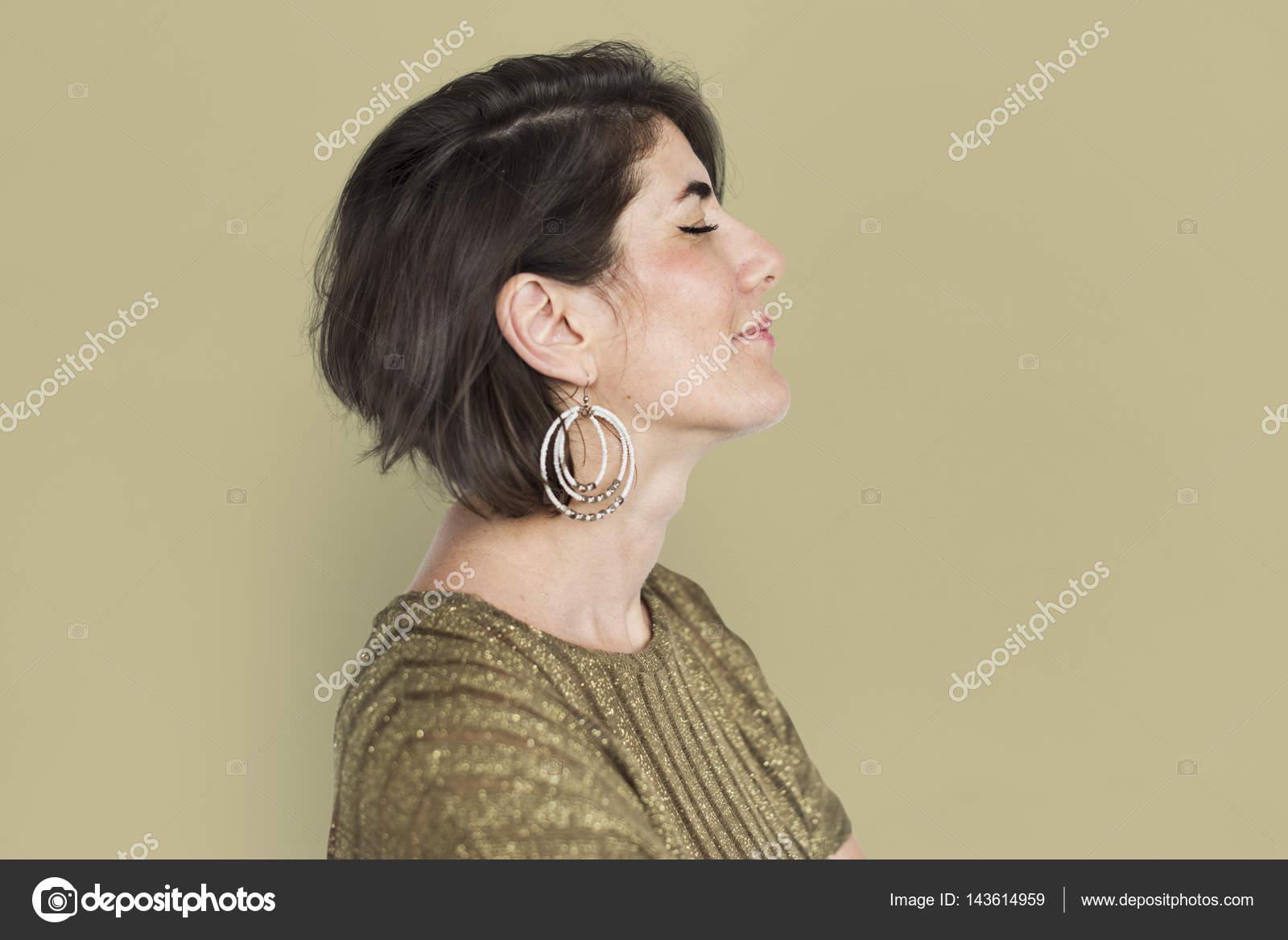 matura donna caucasica — Foto Stock © Rawpixel  143614959 6920f0448834