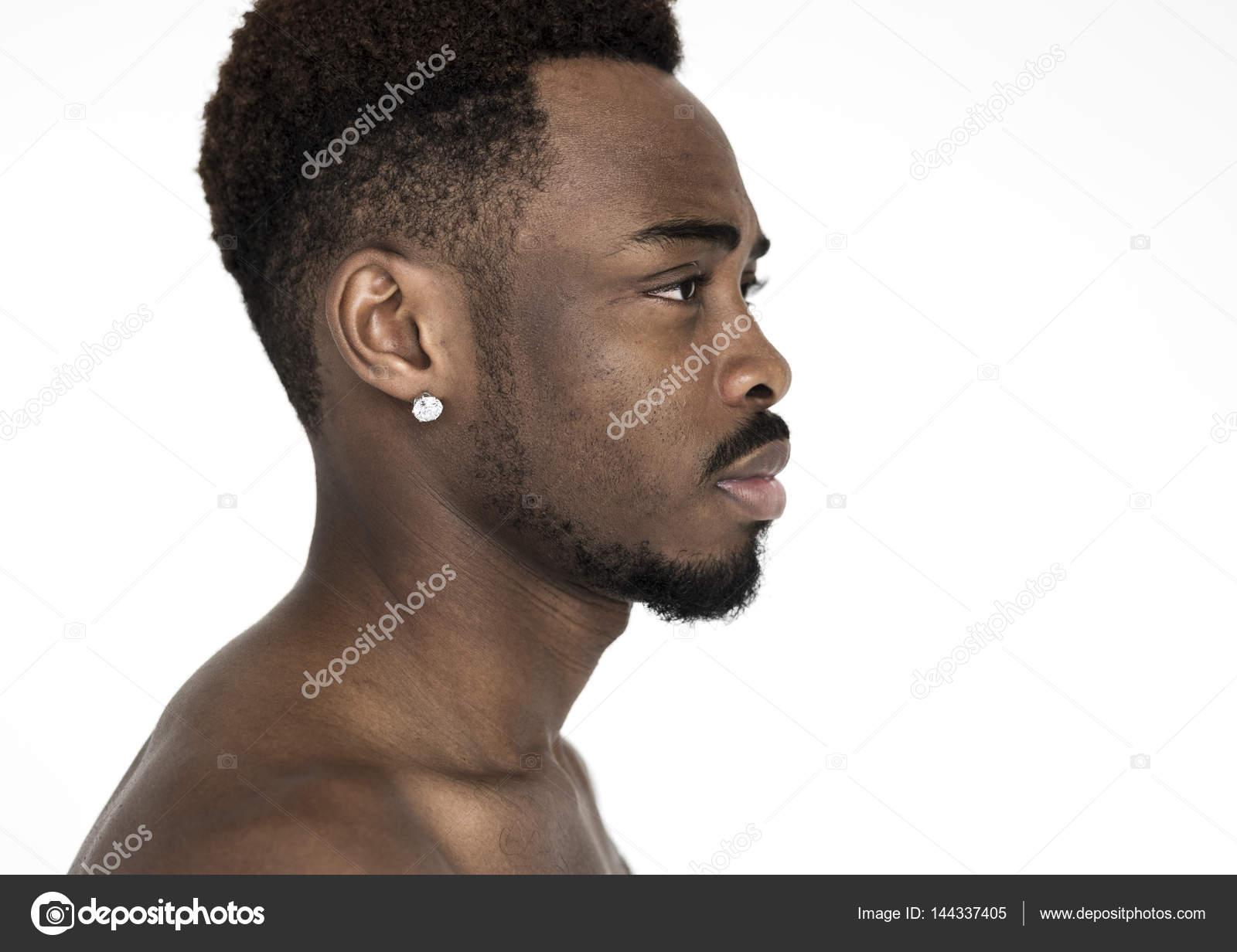 black man profile picture