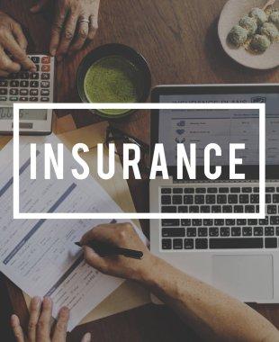 insurance plan Concept.