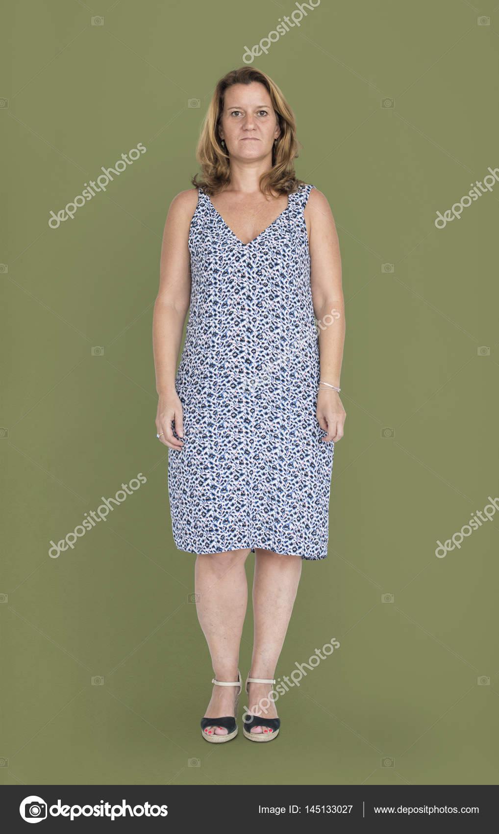 Mulher Madura No Vestido Stock Photo Rawpixel 145133027