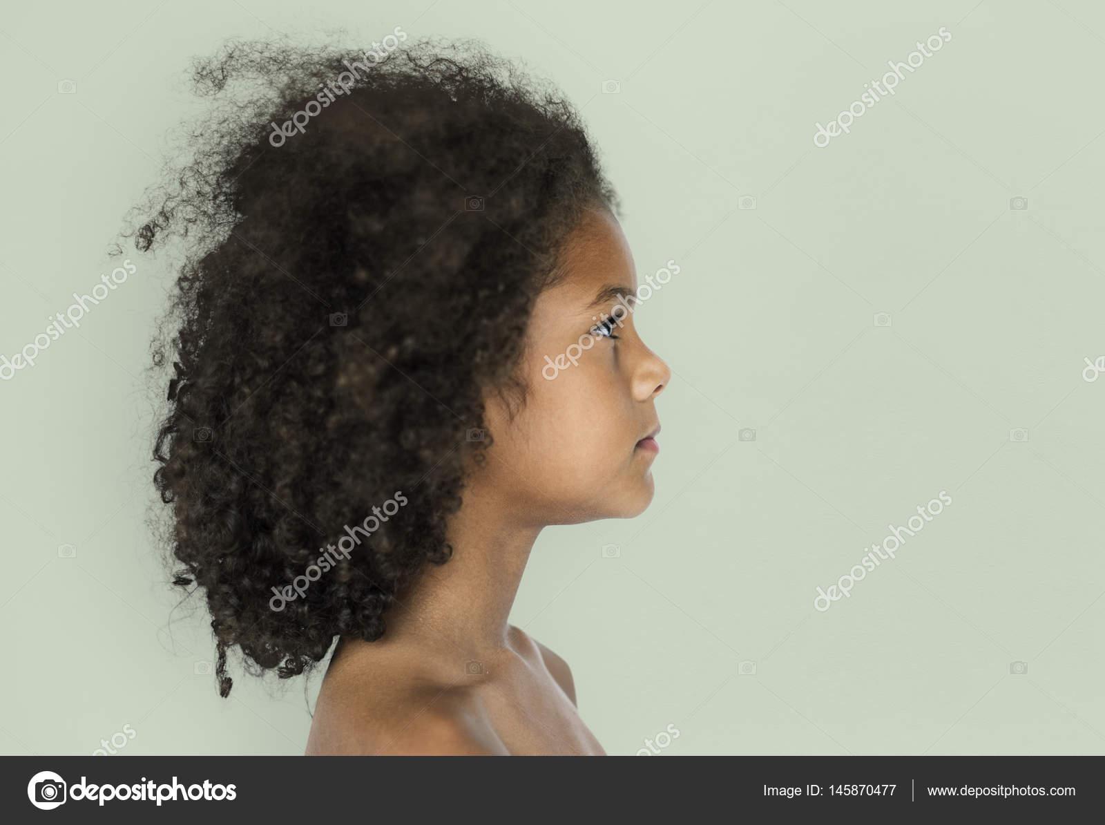 Afrikaanse kind met afro kapsel u2014 stockfoto © rawpixel #145870477