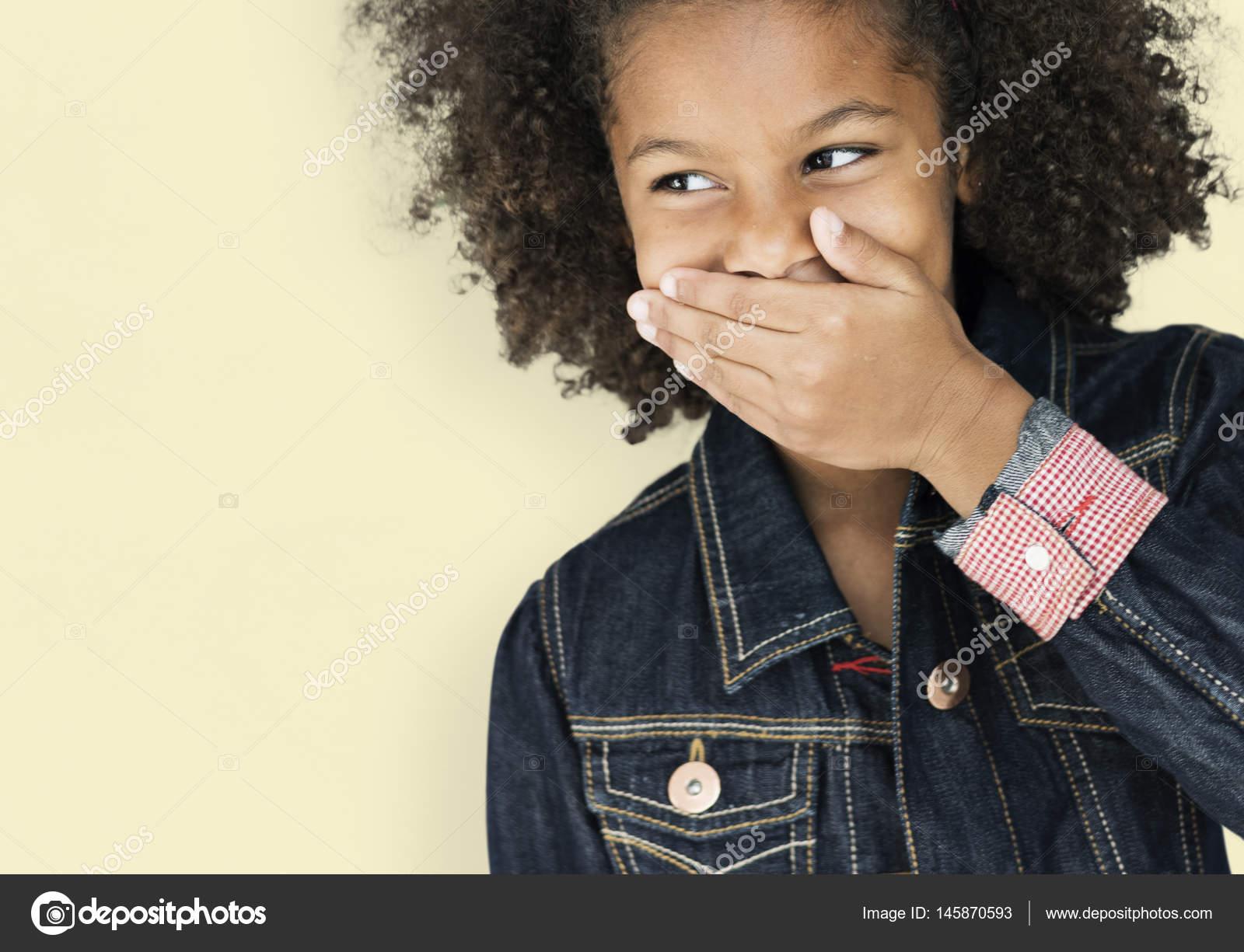 Afrikaanse kind met afro kapsel u2014 stockfoto © rawpixel #145870593