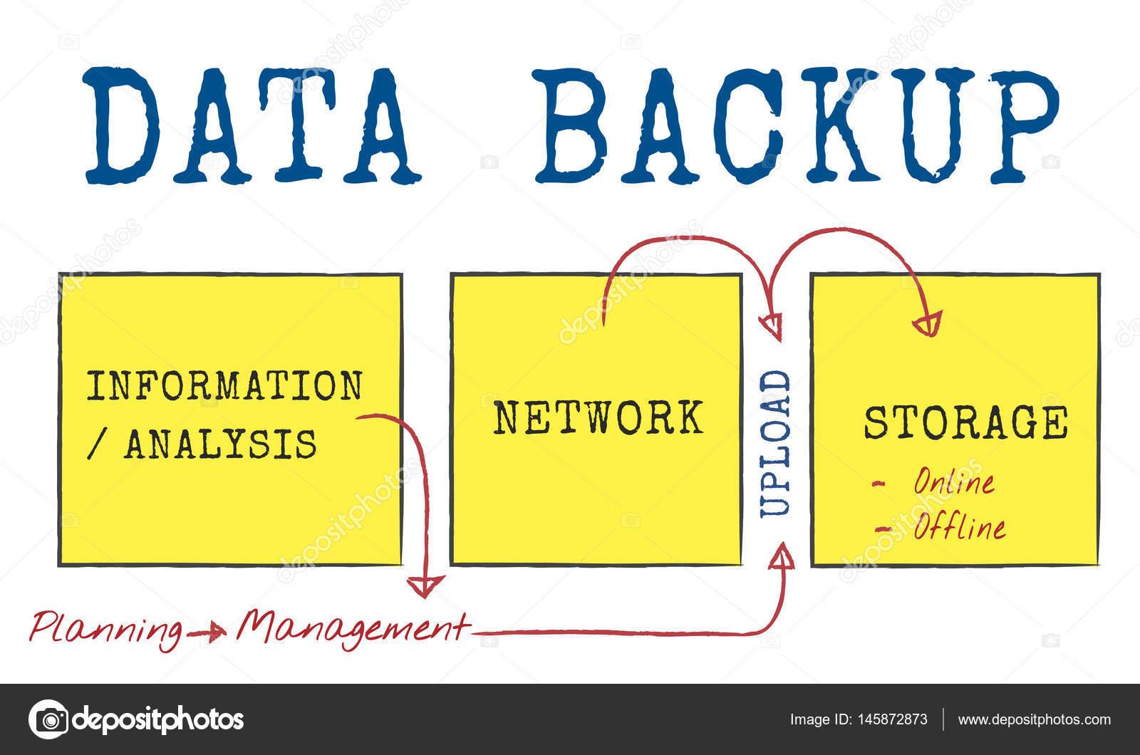 plantilla con concepto de Backup de datos — Foto de stock © Rawpixel ...