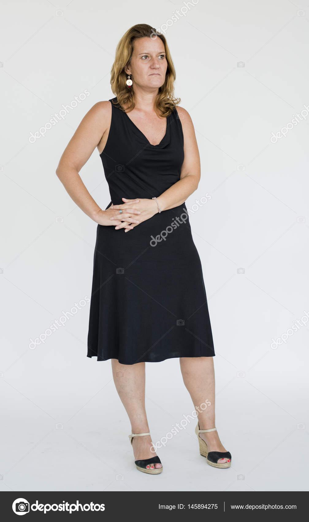 Mujer Madura Con Vestido Foto De Stock Rawpixel 145894275