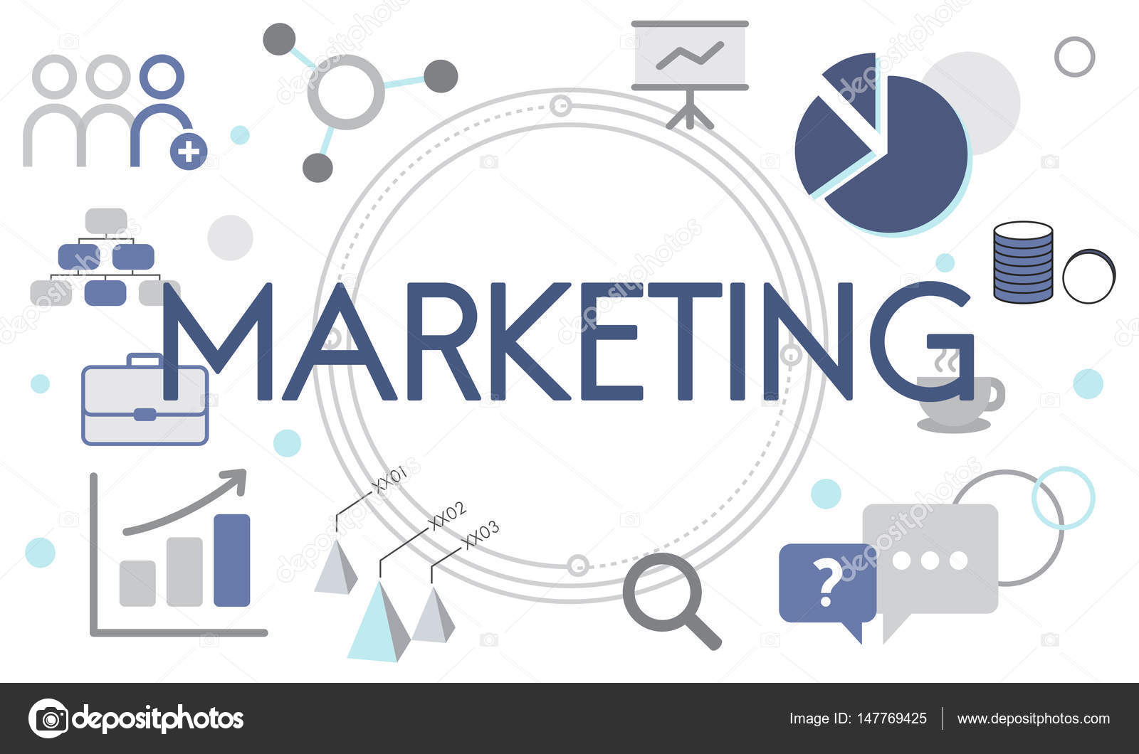 Vorlage Mit Marketing Konzept Stockfoto Rawpixel 147769425