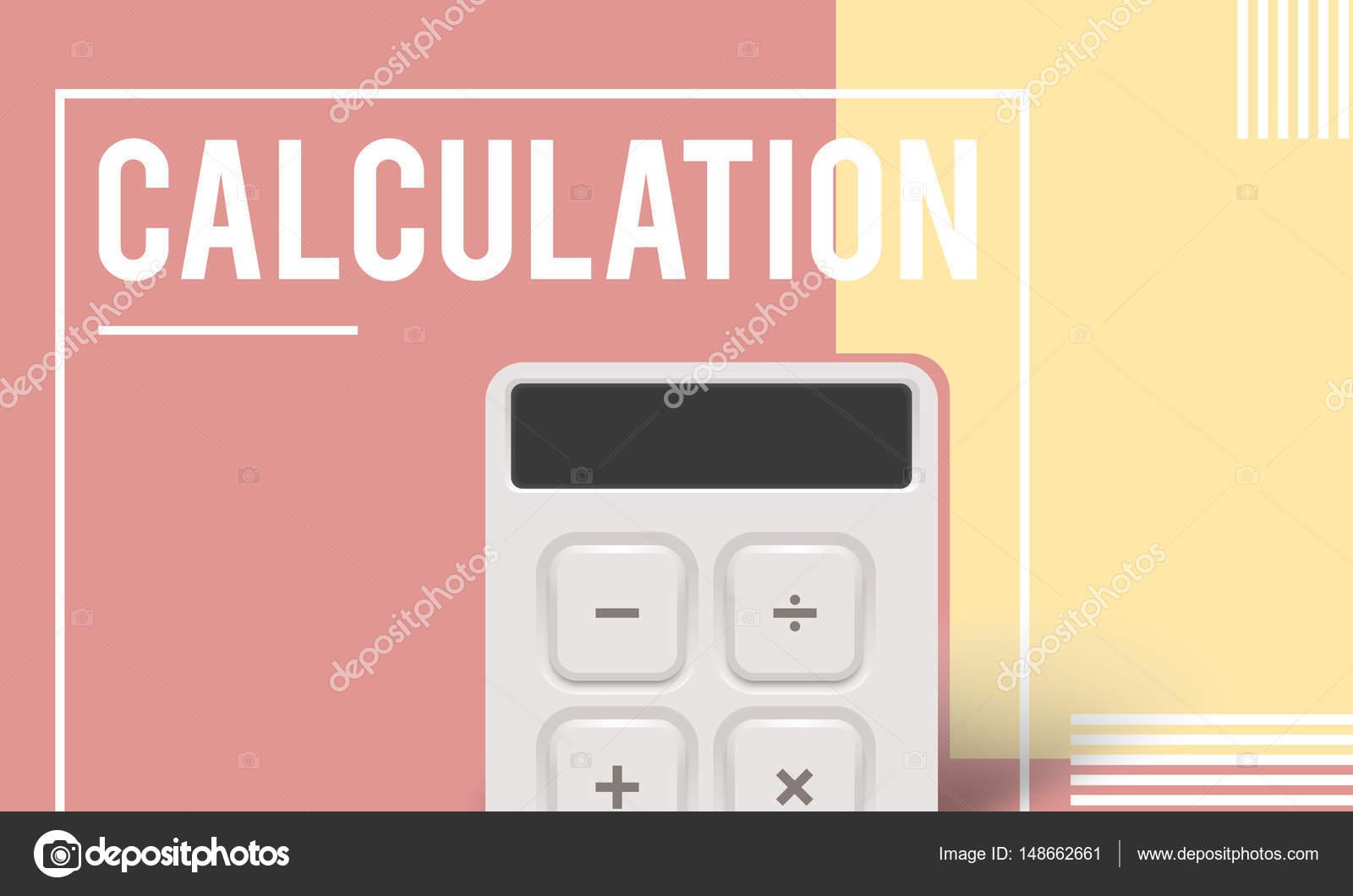 plantilla con concepto de cálculo — Foto de stock © Rawpixel #148662661