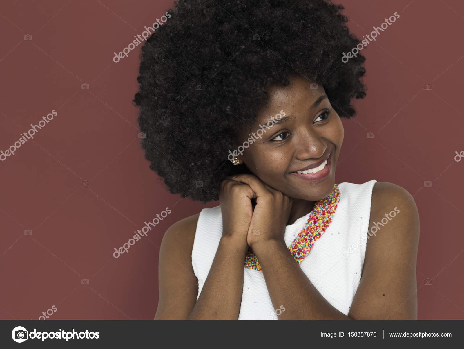Fotos Peinados Afro Para Mujeres Mujer Con Peinado Afro Foto