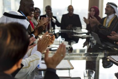 Diverse People Clapping Hands