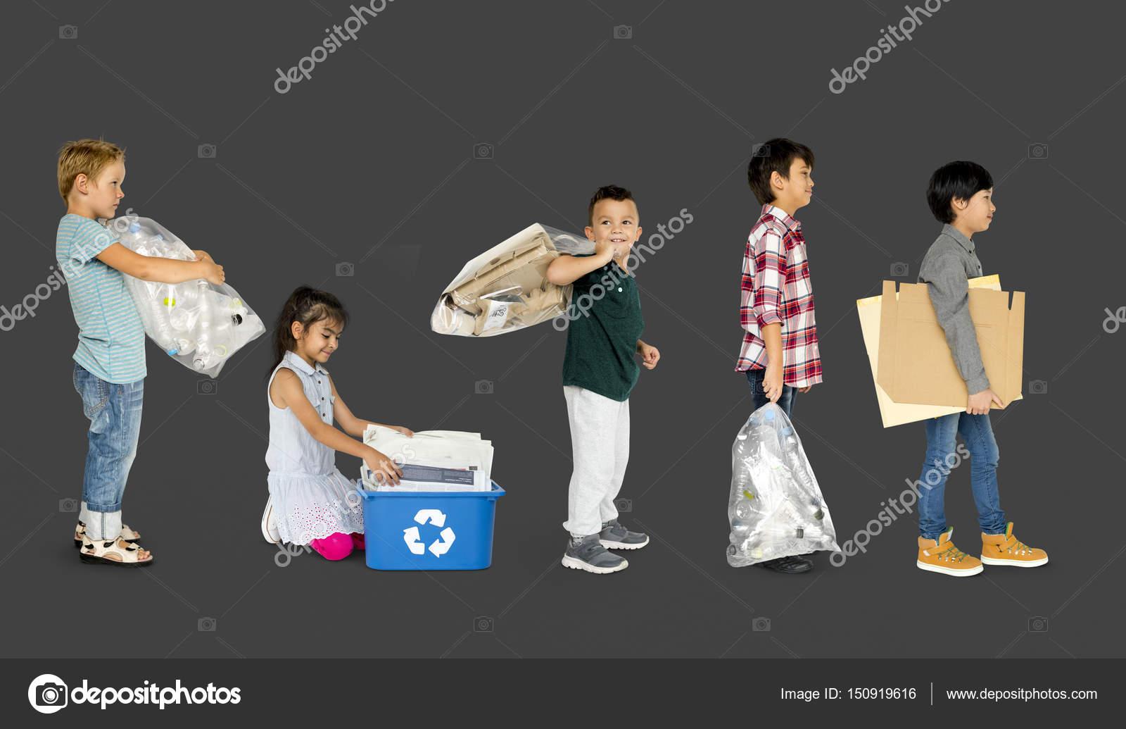 Fotos Ninos Reciclando Basura Ninos Reciclaje Basura Foto De