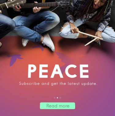 Peace and music band