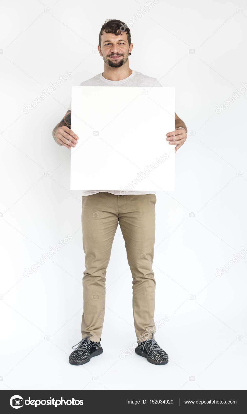 bannière vide de tenue blanche homme — Photographie Rawpixel ... 3356d47ccc2a