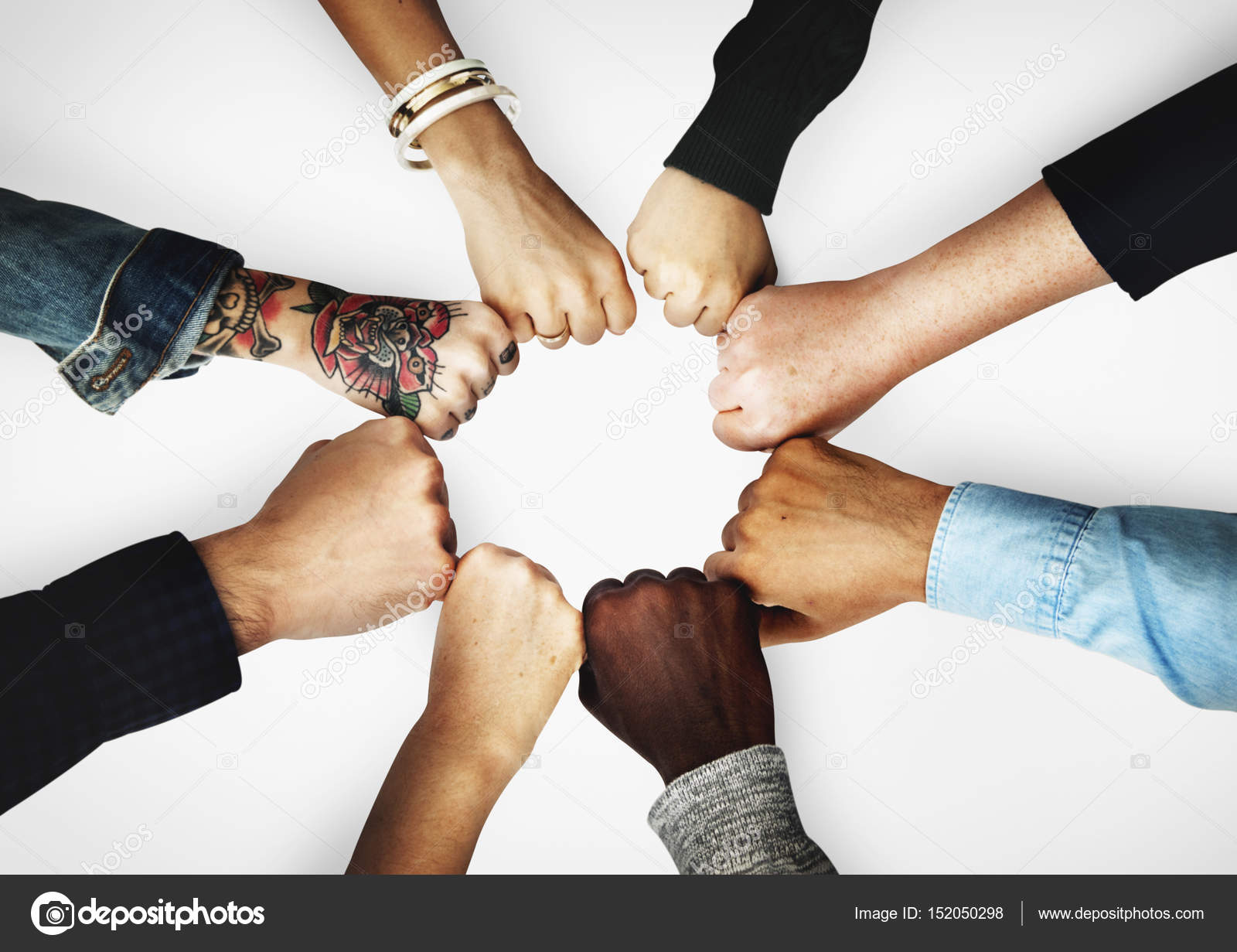 Diversity People Hands Together — Stock Photo © Rawpixel ...
